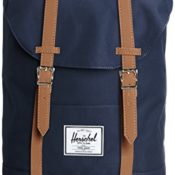 Herschel 10066-00007 Retreat Backpack Rucksack, 1 Liter, Navy/Tan - 1