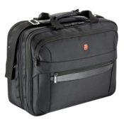 Wenger RV Businesstasche mit Laptopfach 17 Zoll  Basic, schwarz, 27 liters, W73012298 - 1